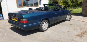 1997 E220 CONVERTIBLE auto Last of the line  SOLD