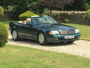 1995 R129 Merc SL500; two previous owner & 45,000 miles For Sale