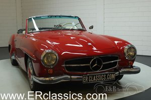 Mercedes-Benz 190SL 1956 Cabriolet with rebuilt engine For Sale