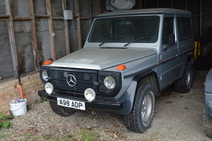 1984 Mercedes 230 GE for auction Friday 12th July SOLD by Auction