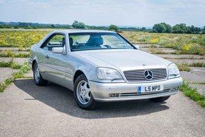 1998 Mercedes-Benz W140 CL420 - 82K Miles - FSH - High Spec SOLD