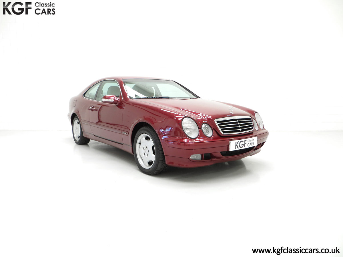 2000 A Sublime Mercedes-Benz CLK320 Elegance with One Owner SOLD (picture 1 of 6)