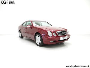 2000 A Sublime Mercedes-Benz CLK320 Elegance with One Owner For Sale