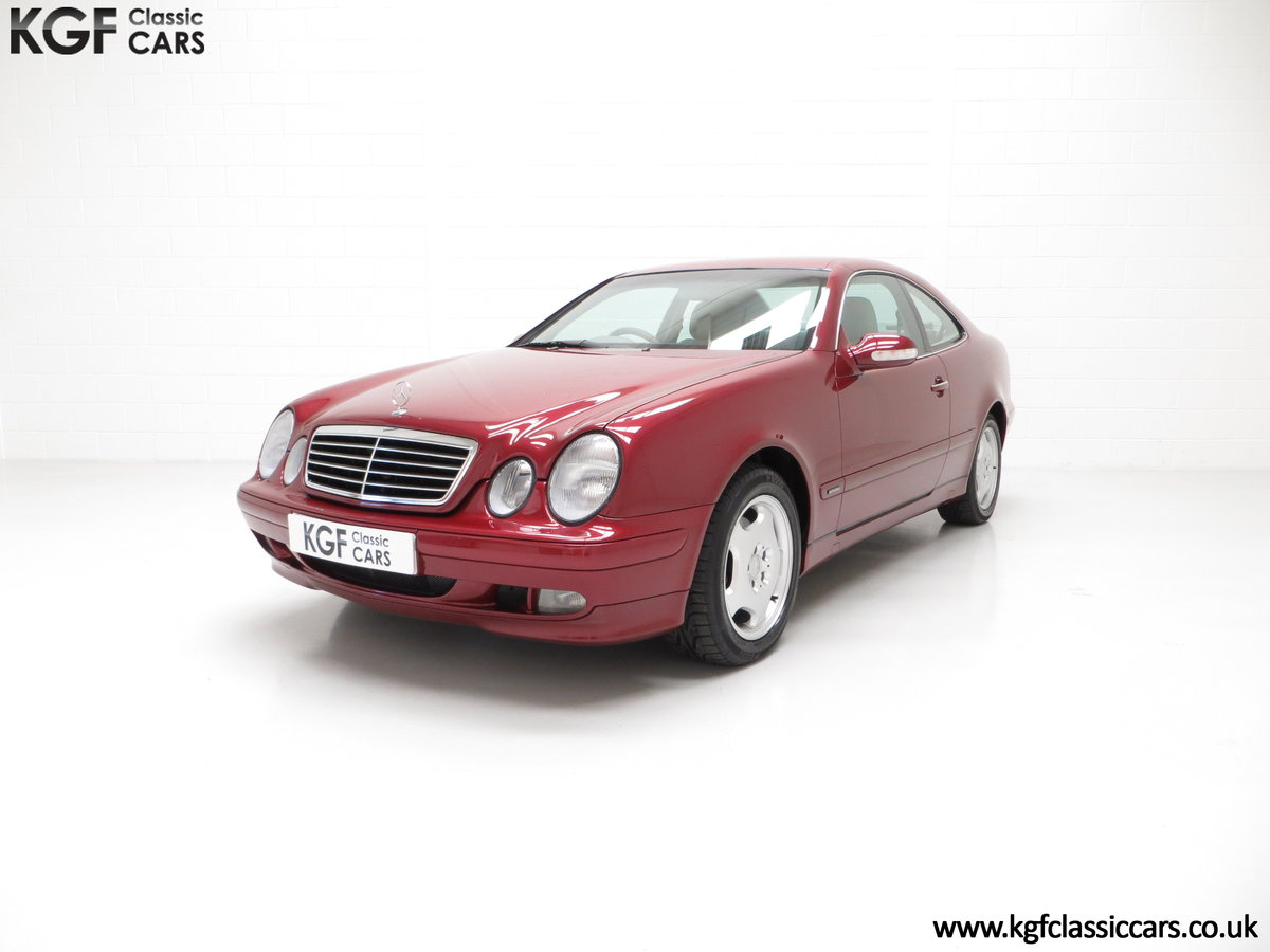 2000 A Sublime Mercedes-Benz CLK320 Elegance with One Owner SOLD (picture 2 of 6)