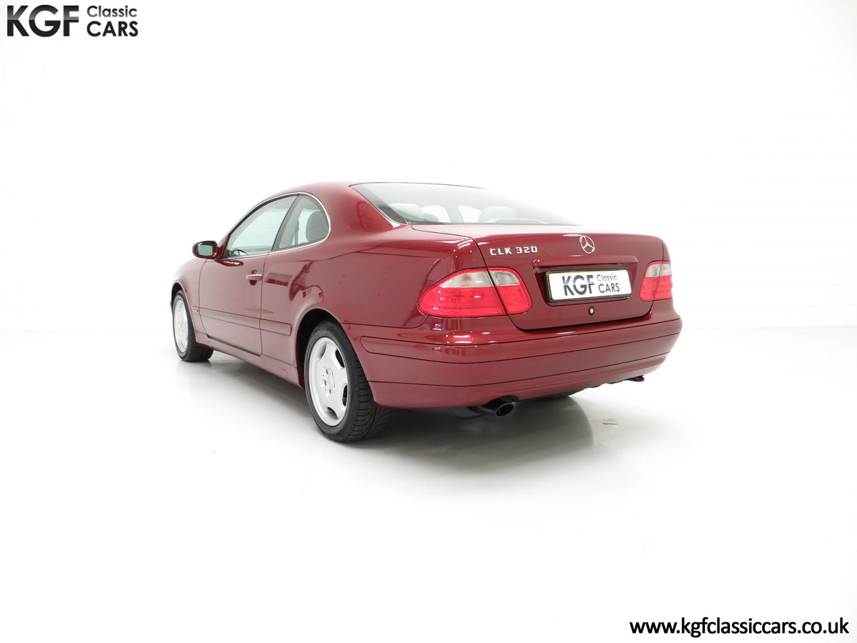2000 A Sublime Mercedes-Benz CLK320 Elegance with One Owner SOLD (picture 4 of 6)