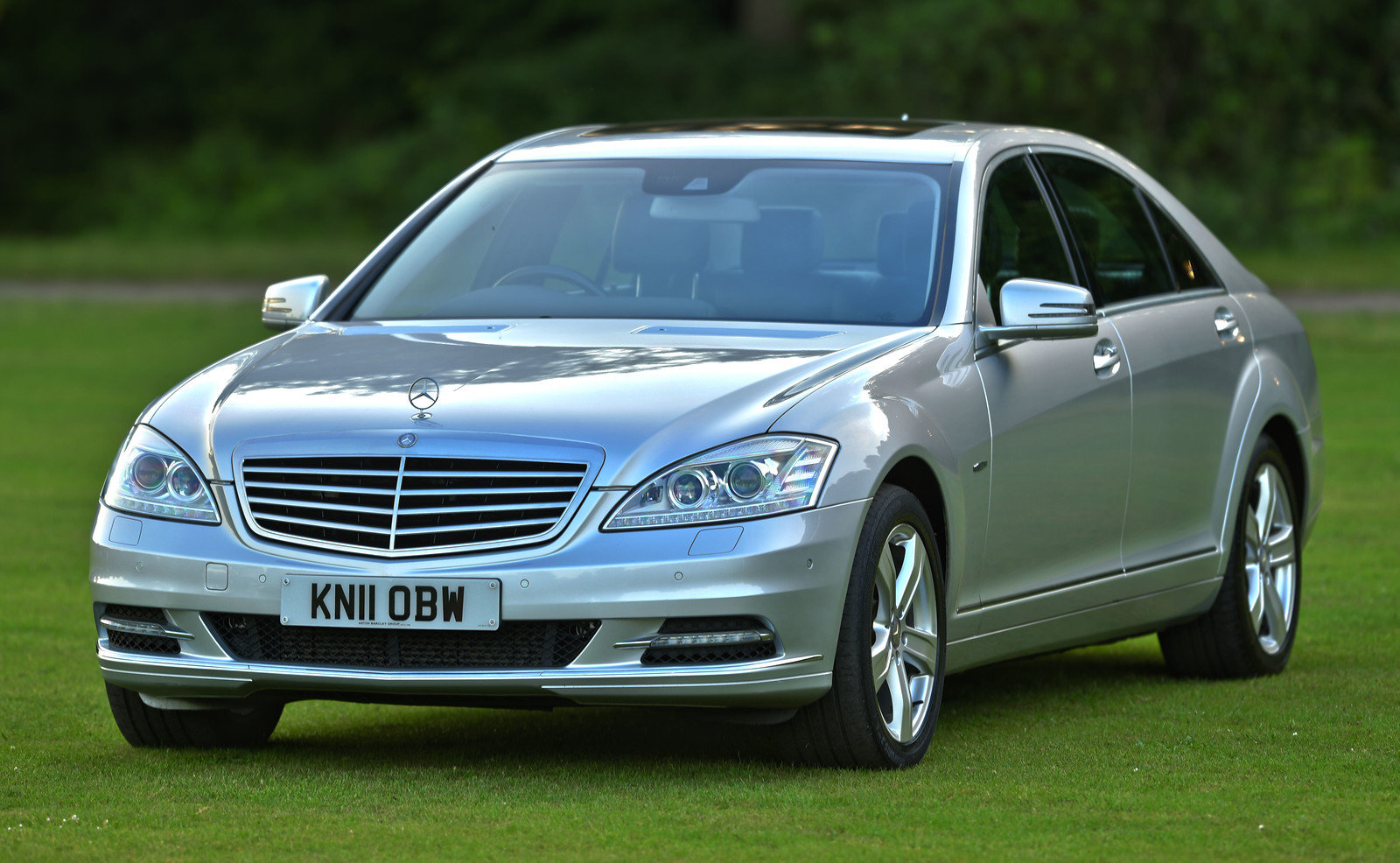 2011 Mercedes Benz S Class S350 BLUETEC LWB For Sale (picture 1 of 6)