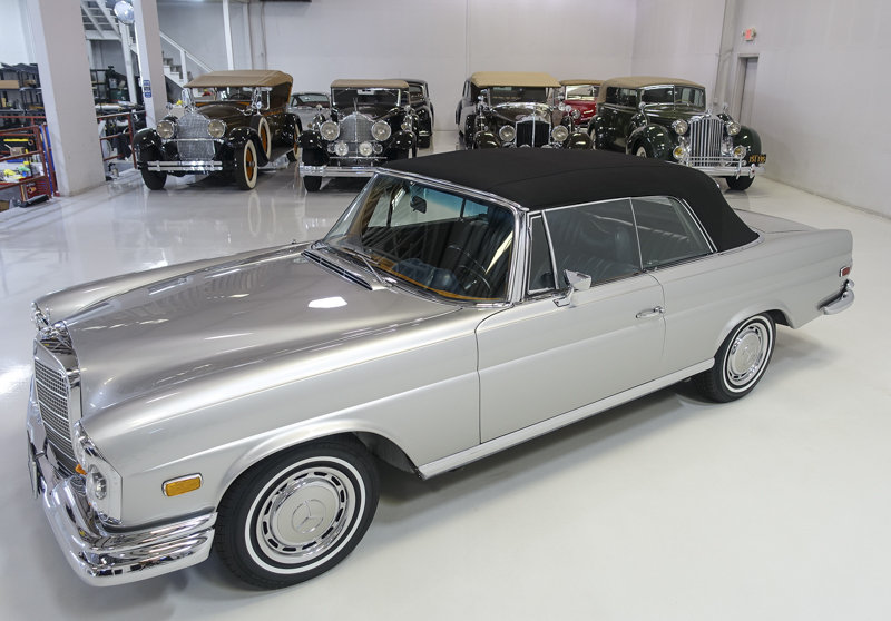 1969 Mercedes-Benz 280SE Cabriolet For Sale (picture 2 of 6)