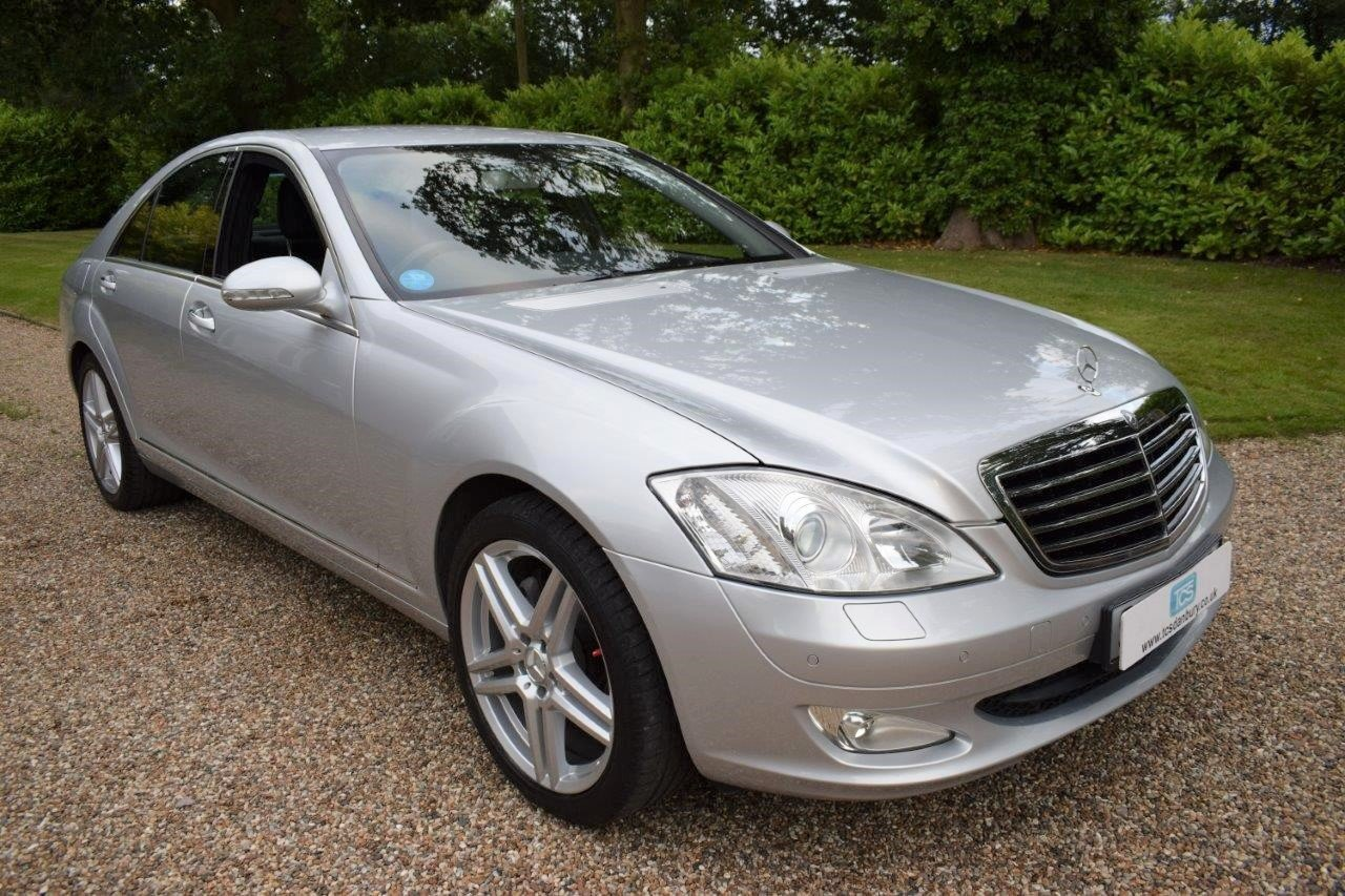 2008 Mercedes S320 CDI Saloon 7-Speed Automatic  For Sale (picture 1 of 6)