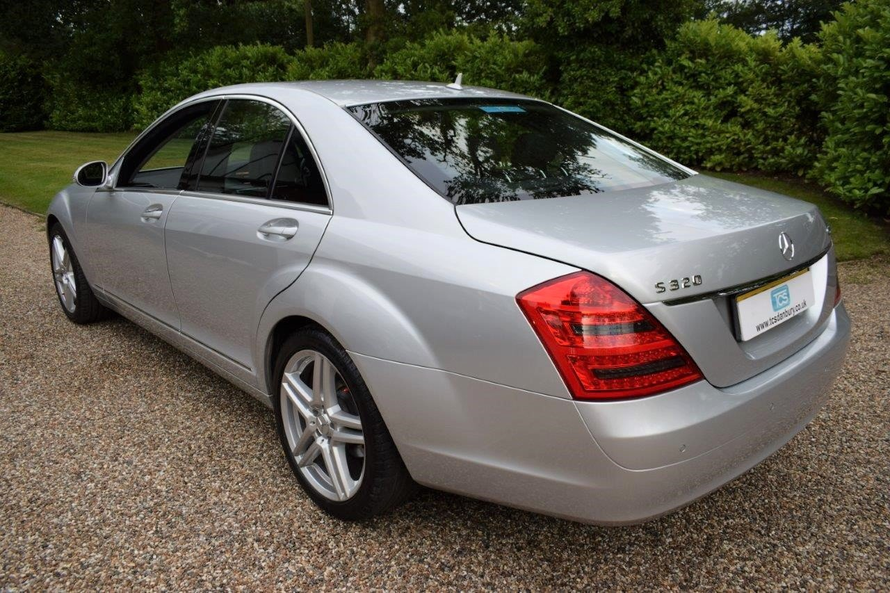 2008 Mercedes S320 CDI Saloon 7-Speed Automatic  For Sale (picture 2 of 6)