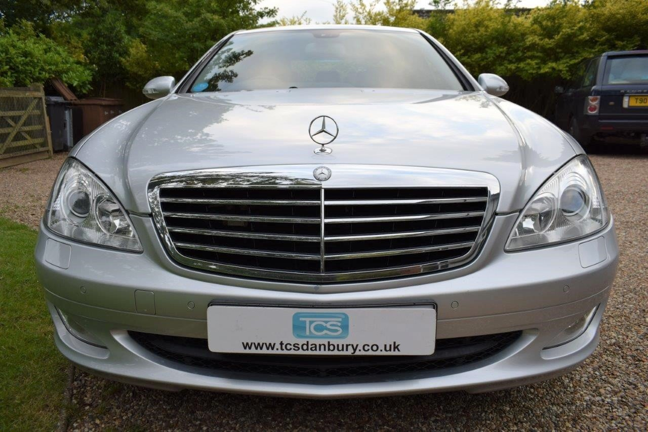 2008 Mercedes S320 CDI Saloon 7-Speed Automatic  For Sale (picture 4 of 6)