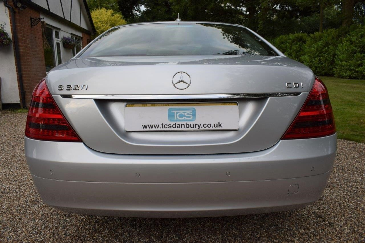 2008 Mercedes S320 CDI Saloon 7-Speed Automatic  For Sale (picture 5 of 6)