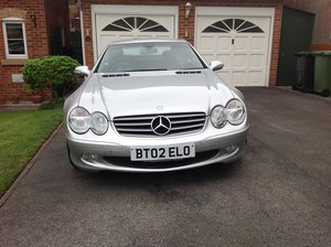 2002 Mercedes SL500 WHAT A CAR FOR THE MONEY For Sale