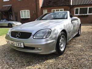 2001 Mercedes SLK 200 Kompressor auto 48000 miles For Sale