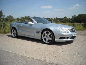 2002 MERCEDES SL500 V8 A LOT OF CAR FOR LITTLE MONEY For Sale