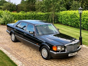 Mercedes 500 SEL W126 -  1992 For Sale