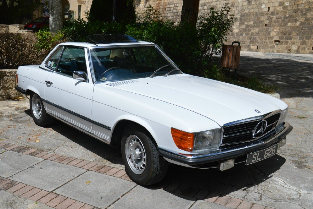 1976 Classic Mercedes Benz 350 SL For Sale (picture 1 of 6)