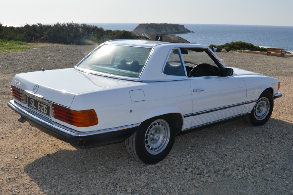 1976 Classic Mercedes Benz 350 SL For Sale (picture 2 of 6)