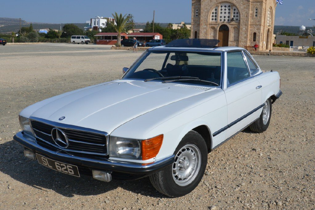 1976 Classic Mercedes Benz 350 SL For Sale (picture 4 of 6)