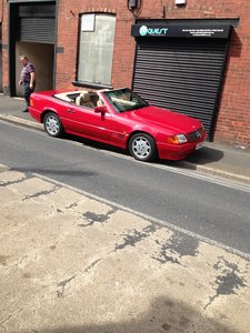 1994 Mercedes 280SL jonrad cabriolet For Sale
