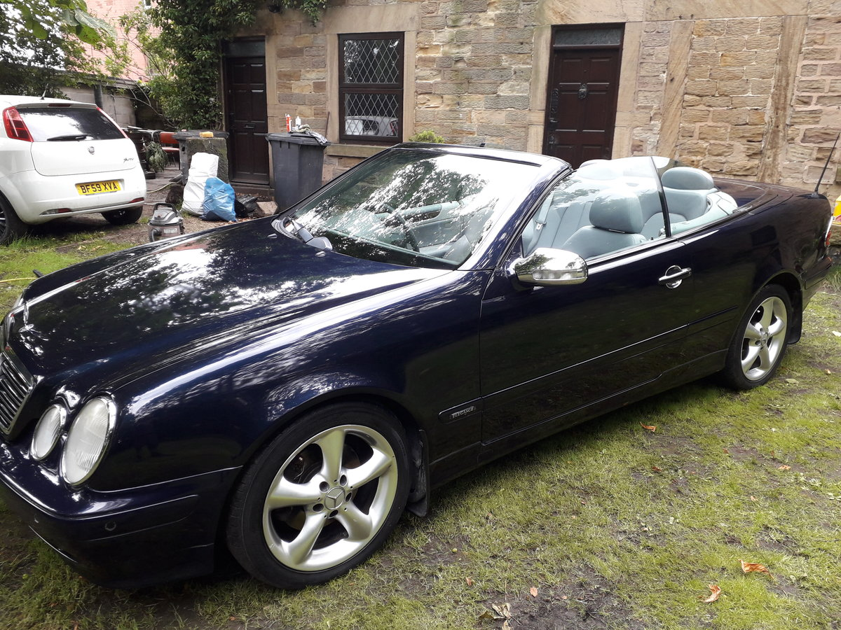 2002 Mercedes clk 230k convertible For Sale (picture 1 of 6)