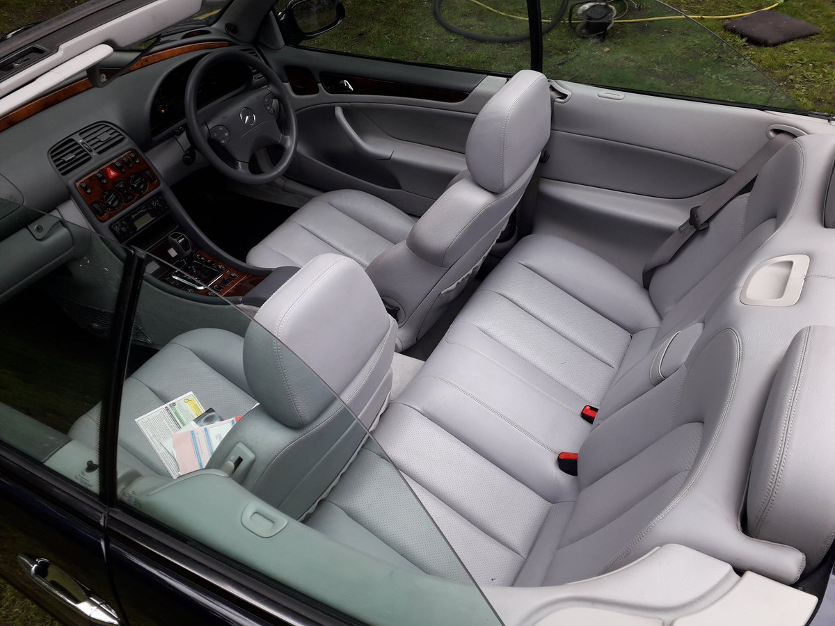 2002 Mercedes clk 230k convertible For Sale (picture 2 of 6)