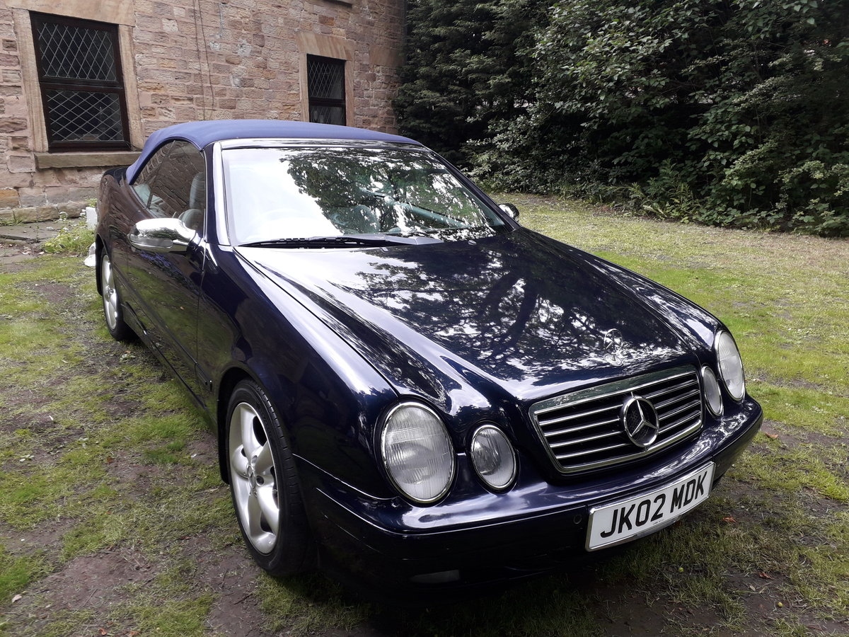 2002 Mercedes clk 230k convertible For Sale (picture 5 of 6)