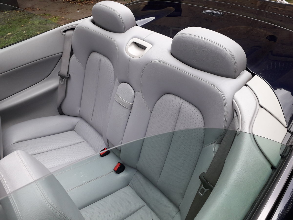2002 Mercedes clk 230k convertible For Sale (picture 6 of 6)