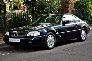 1995 Mercedes SL320 Convertible, FSH, Full leather For Sale