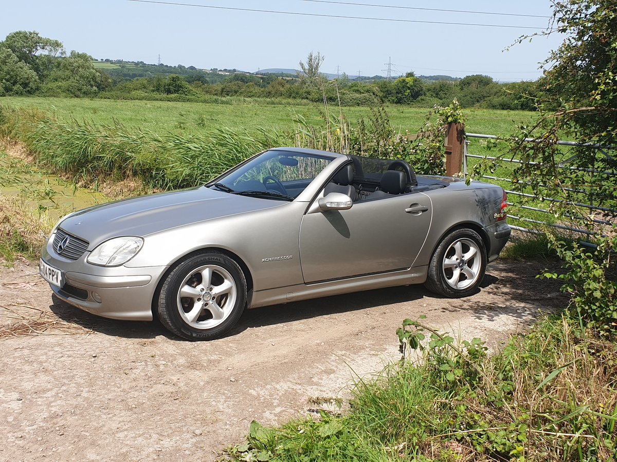 2004 Mercedes slk200 For Sale (picture 1 of 6)
