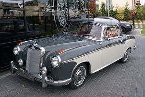 1960 Mercedes MB 220 SE Coupé From collection