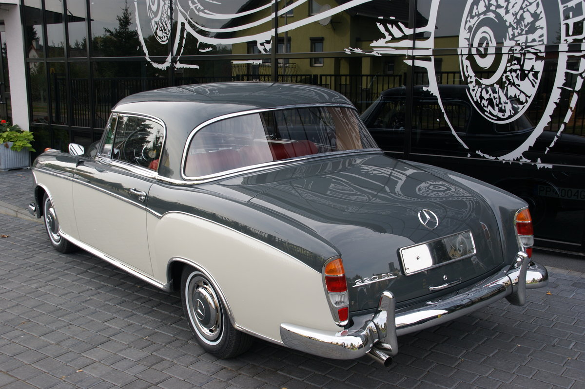 1960 Mercedes MB 220 SE Coupé From collection  For Sale (picture 2 of 6)