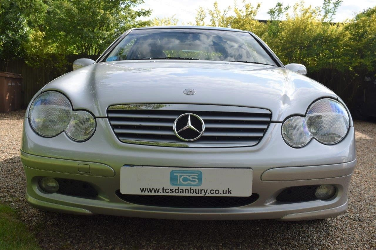 2002 Mercedes C200 Kompressor Sport Coupe Seq-Automatic For Sale (picture 4 of 6)