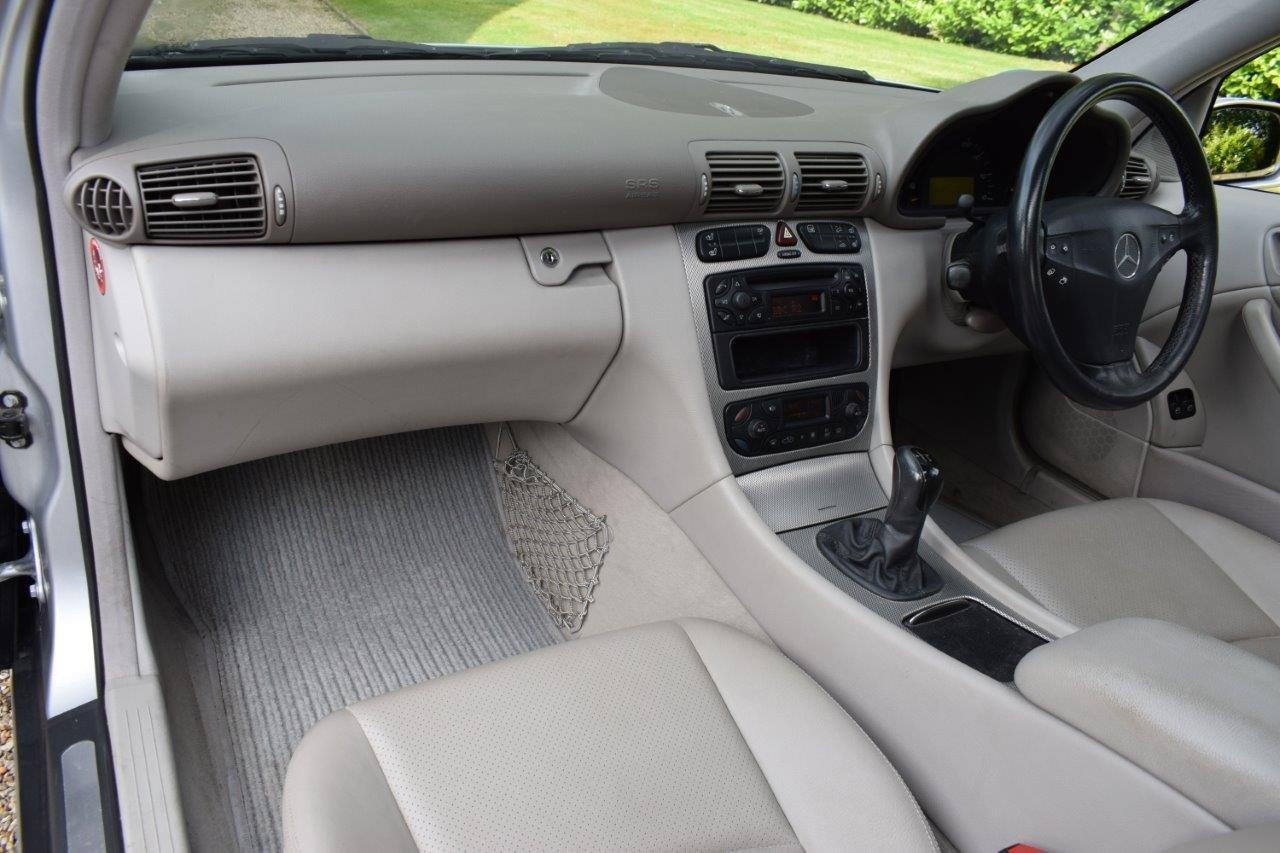 2002 Mercedes C200 Kompressor Sport Coupe Seq-Automatic For Sale (picture 6 of 6)