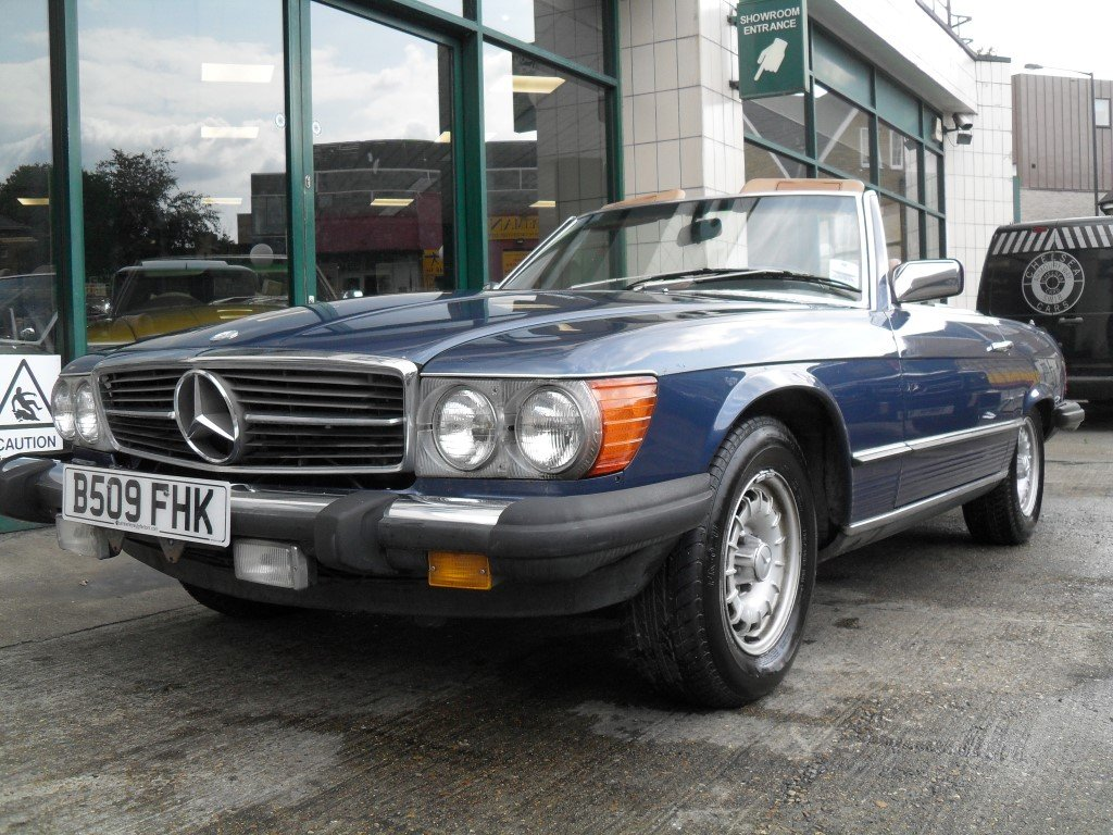 1985 Mercedes Benz 380SL For Sale (picture 1 of 5)