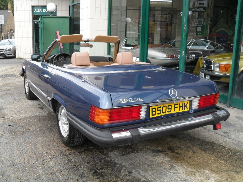1985 Mercedes Benz 380SL For Sale (picture 3 of 5)