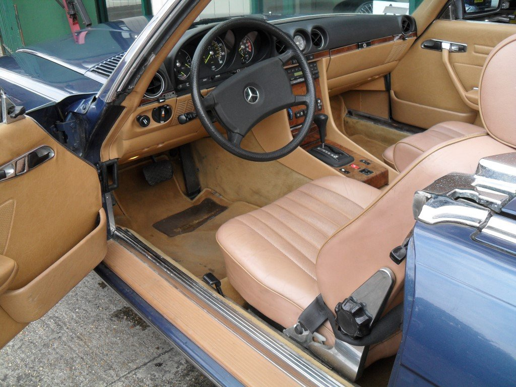 1985 Mercedes Benz 380SL For Sale (picture 4 of 5)