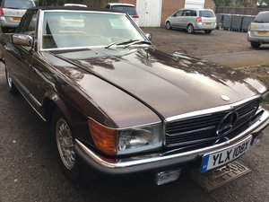 Mercedes sl 380 convertible 1981 with hardtop For Sale