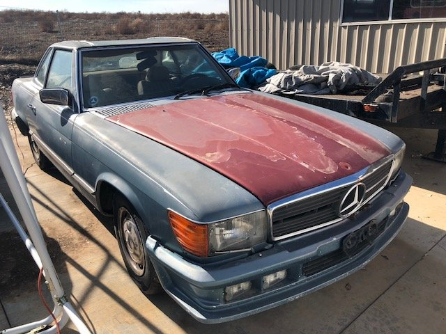 1975 Mercedes Benz 450SL '75 (for restauration) For Sale (picture 1 of 6)