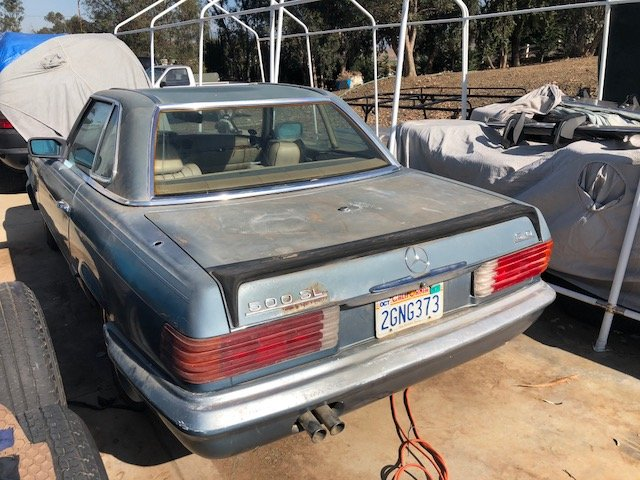 1975 Mercedes Benz 450SL '75 (for restauration) For Sale (picture 5 of 6)