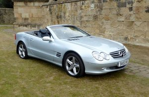 2003 Mercedes-Benz SL 350 For Sale by Auction
