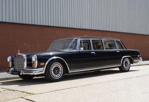 1971 Mercedes-Benz 600 Pullman LWB Four Door Version For Sale In