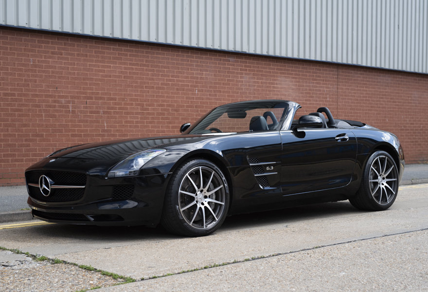 2013 Mercedes Benz 6.3 SLS AMG Roadster (RHD) For Sale (picture 1 of 12)