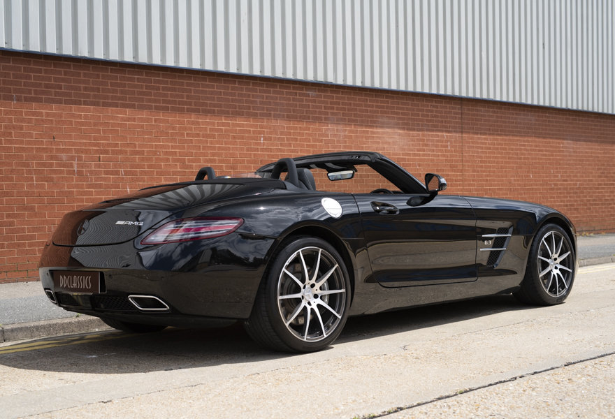 2013 Mercedes Benz 6.3 SLS AMG Roadster (RHD) For Sale (picture 2 of 12)
