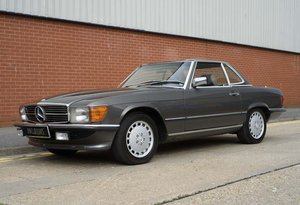 1987 Mercedes-Benz 560SL For Sale In London (LHD) For Sale