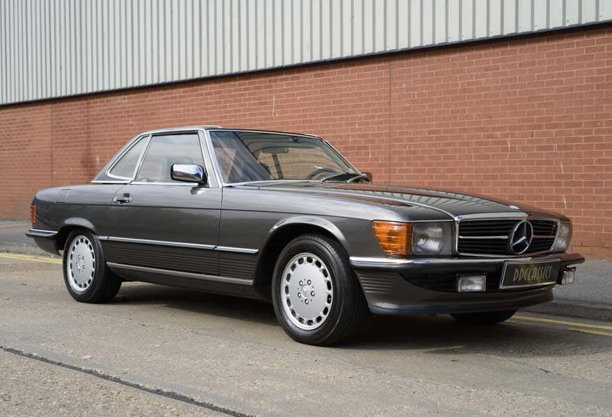 1987 Mercedes-Benz 560SL For Sale In London (LHD) For Sale (picture 2 of 12)
