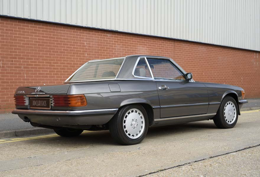 1987 Mercedes-Benz 560SL For Sale In London (LHD) For Sale (picture 3 of 12)