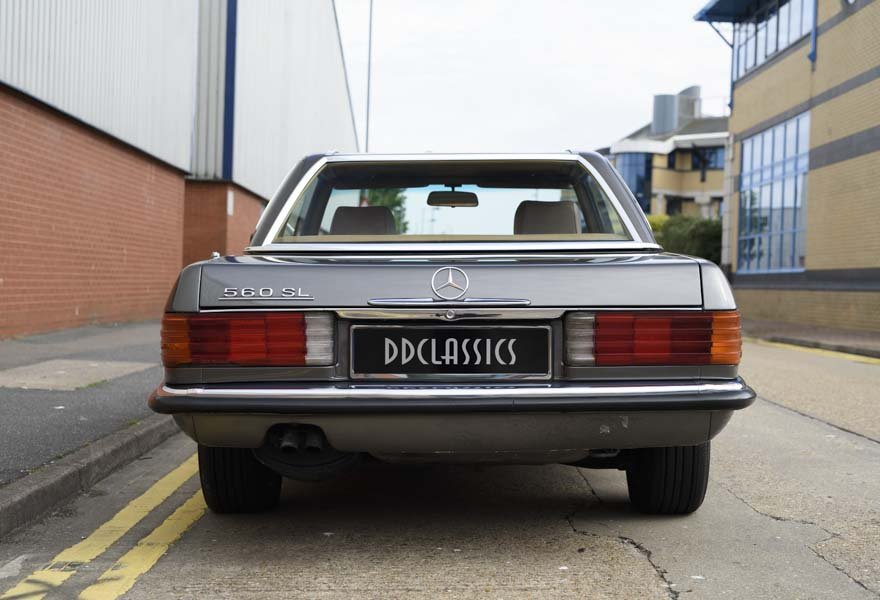 1987 Mercedes-Benz 560SL For Sale In London (LHD) For Sale (picture 6 of 12)