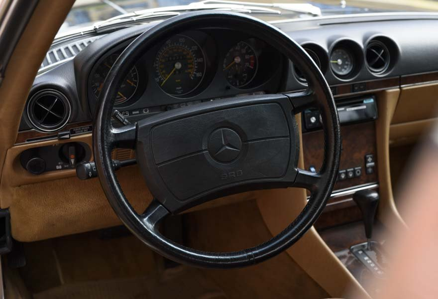 1987 Mercedes-Benz 560SL For Sale In London (LHD) For Sale (picture 8 of 12)