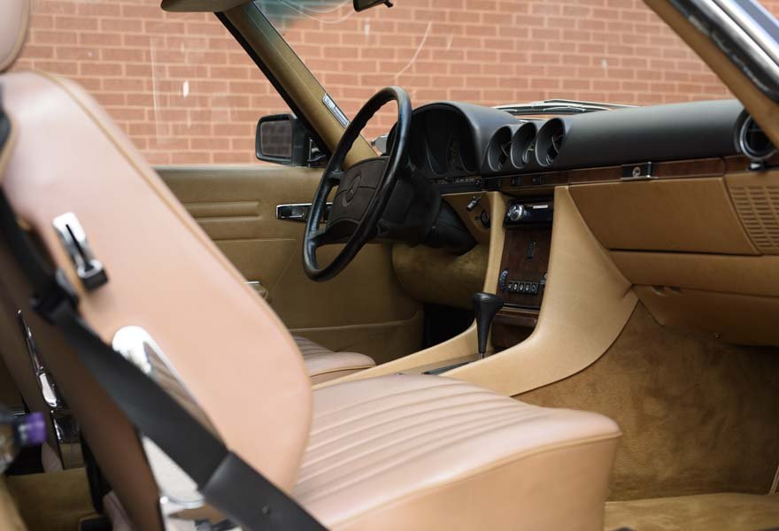 1987 Mercedes-Benz 560SL For Sale In London (LHD) For Sale (picture 9 of 12)