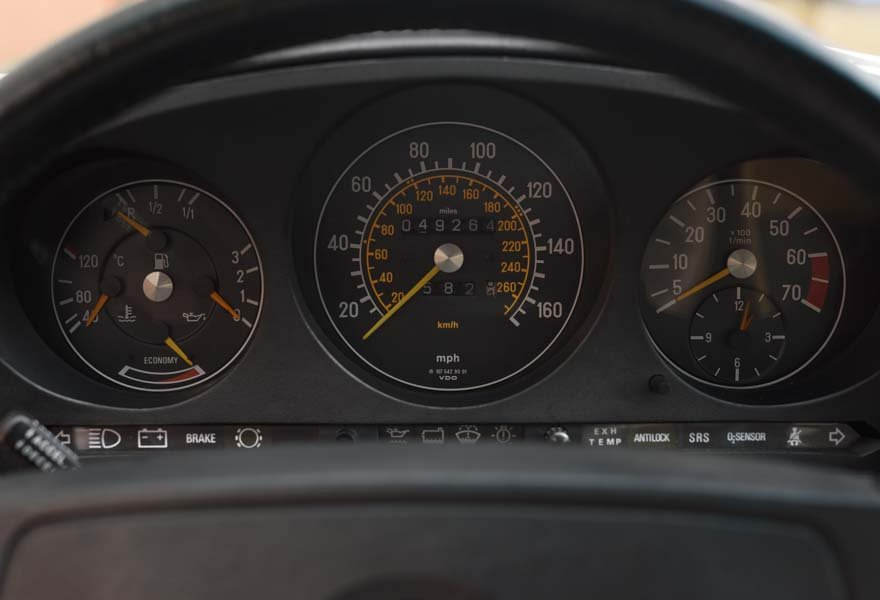 1987 Mercedes-Benz 560SL For Sale In London (LHD) For Sale (picture 11 of 12)